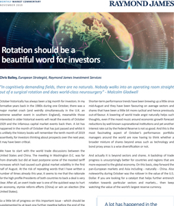 Rotation should be a beautiful word for investors